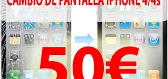 Cambiar Pantalla iPhone en Alicante